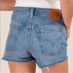 Levi's Shorts - Levi's 501 Cutoff Denim Distressed Shorts